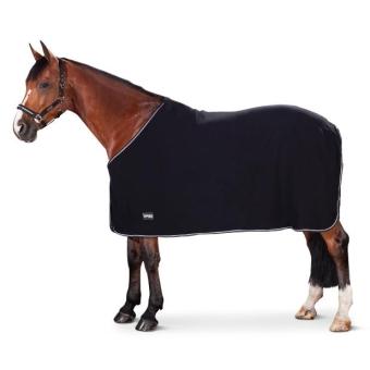 ESKADRON FOCUS Abschwitzdecke Fleece black