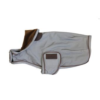 KENTUCKY Dogwear Hundemantel reflektierend & wasserabweisend silber