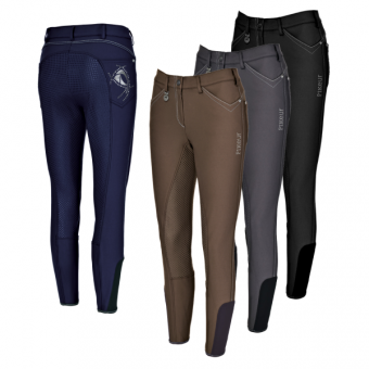 PIKEUR Damen-Reithose Piana Grip / darkshadow
